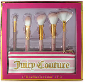 Juicy Couture Light Pink & Gold 'Juicy Couture' Makeup Brush Set