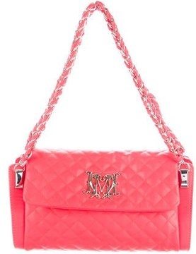 Love Moschino Quilted Leather Flap Bag