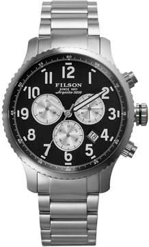 Filson Mackinaw Field Chrono Stainless Steel Watch