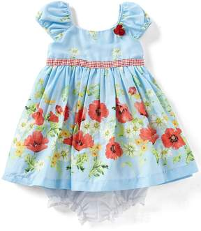 Laura Ashley London Baby Girls 12-24 Months Floral Fit-And-Flare Dress