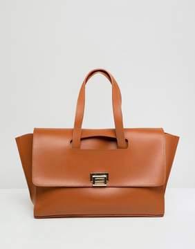 Asos DESIGN winged satchel