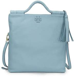 Tory Burch Taylor Convertible Fold-Over Crossbody - Blue - ONE COLOR - STYLE