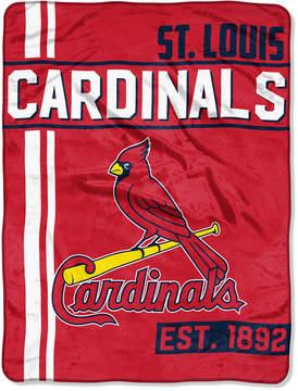 Northwest Company St. Louis Cardinals Micro Raschel 46x60 Walk Off Blanket