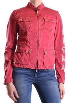 Brema Women's Red Cotton Outerwear Jacket.