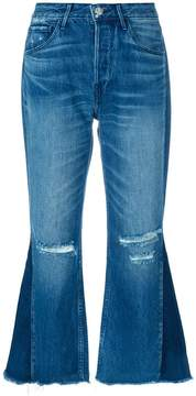 3x1 W4 Higher Ground Gusset Crop jeans