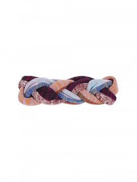 Gucci Braided wool blend infinity scarf