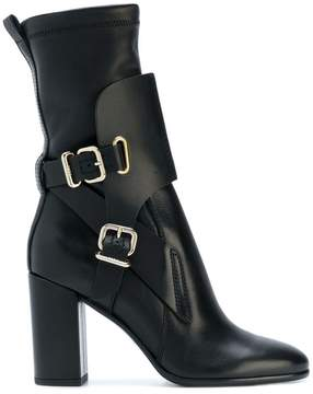 Tod's buckled midi boots