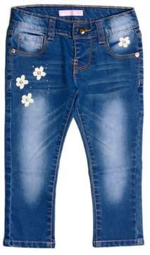 GUESS Girl's Knit Denim Pants (2-6x)