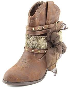 Not Rated Legacy Round Toe Synthetic Western Boot.