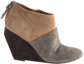 Jean-Michel Cazabat Beige Suede Ankle boots