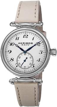 Akribos XXIV Stainless Steel Ladies Watch