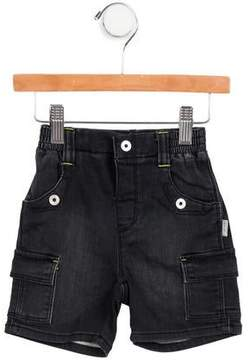 Kenzo Boys' Knit Cargo Shorts w/ Tags
