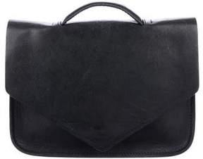 Steven Alan Leather Top Handle Bag