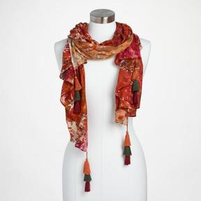 World Market Multicolor Abstract Print Scarf