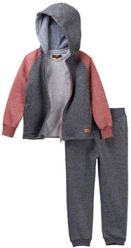 7 For All Mankind Hoodie, Tee, & Joggers Set (Toddler Boys)