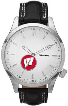 Icon Eyewear Sparo Watch - Men's Wisconsin Badgers Leather