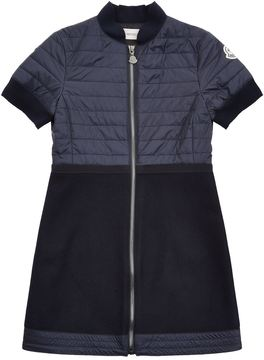 Moncler Quilted Zip Up Dress