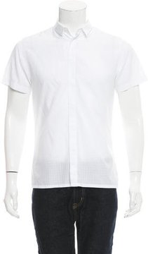 Kris Van Assche Windowpane Button-Up Shirt