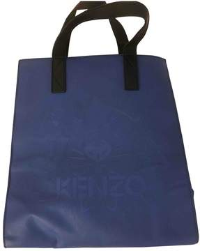 Kenzo Navy Leather Handbag
