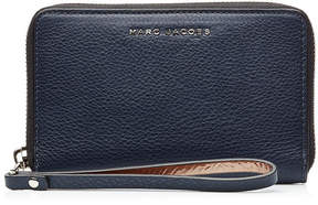 Marc Jacobs Two-Tone Leather Zip Phone Wristlet - MULTICOLORED - STYLE