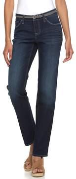 Apt. 9 Women's Curvy Fit Straight-Leg Jeans