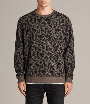 AllSaints Montal Crew Sweatshirt