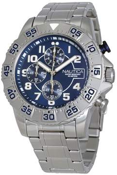 Nautica Navy Dial Men's Chronograph Watch