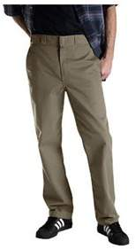 Dickies Men's Regular Fit Multi-use Pocket Work Pant 32 Inseam.