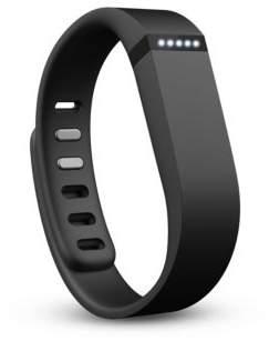 Fitbit Black Flex Activity Tracker Wristband Smartwatch