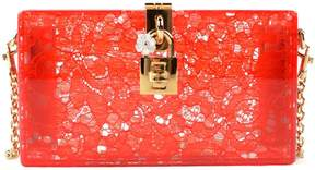 Dolce & Gabbana Dolce Box Clutch - RED - STYLE