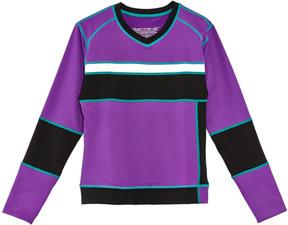 Obermeyer Girls' Powder Purple Top