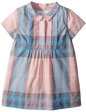 Burberry Taylor Short Sleeve Collared Dress Girl's Dress