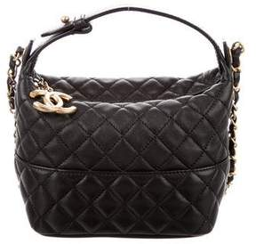 Chanel CC Mini Quilted Hobo