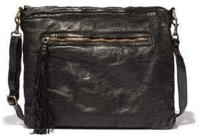 Johnny Was Allegra Washed Leather Cross Body Bag