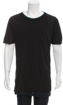 Dries Van Noten Layered Crew Neck T-Shirt