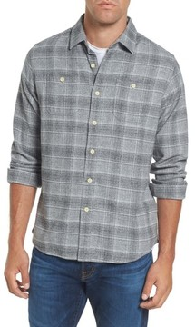 Grayers Men's Charles Heritage Modern Fit Flannel Sport Shirt