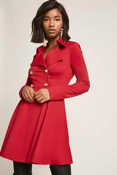 Forever 21 Double-Breasted Trench Dress