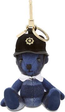 Burberry Bobby Thomas Bear check cashmere keying - CADET BLUE - STYLE