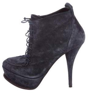 Elizabeth and James Platform Ankle Boots