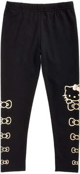Hello Kitty Foil-Print Leggings, Little Girls (4-6X)
