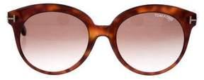 Tom Ford Monica Tortoiseshell Sunglasses