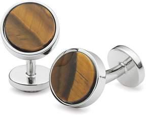 Charles Tyrwhitt Tiger's Eye Stone Cufflinks