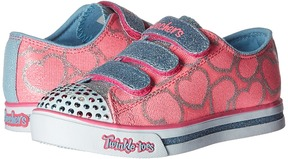 Skechers Sparkle Glitz 10709L Lights Girl's Shoes