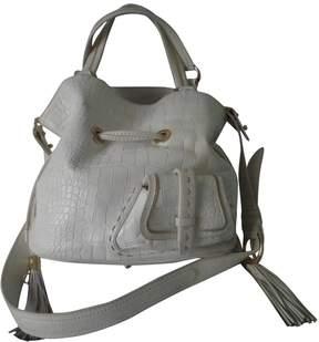 Lancel 1er Flirt White Leather Handbag