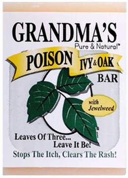 Smallflower Grandma's Poison Ivy Bar Soap by Remwood Products (2.15oz Soap Bar)
