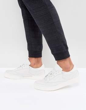 Reebok Club C 85 RS Sneakers In White BS7853