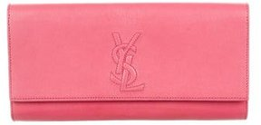 Saint Laurent Belle de Jour Clutch - PINK - STYLE