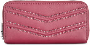 INC International Concepts I.n.c. Marney Double Zip Around Wallet