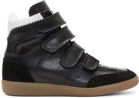 Isabel Marant Black Bilsy New High Sneakers