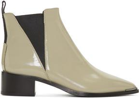 Acne Studios Grey Jensen Boots
